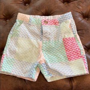 Euc toddler boys vv for target patchwork shorts